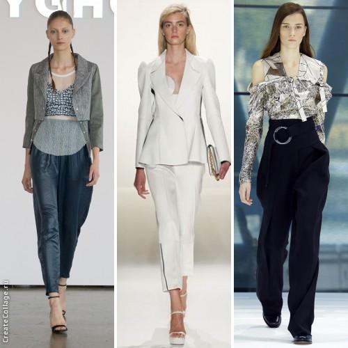 Брючная мода 2016: укороченные, прямые и зауженные модели