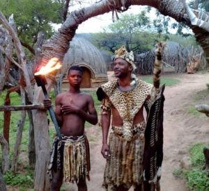 На фото представители племен Северо-восточной Африки
