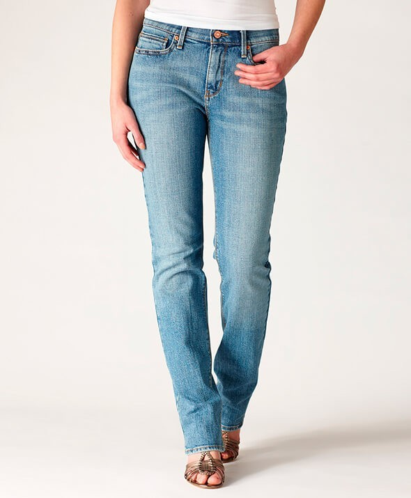 Женские джинсы straight-cut