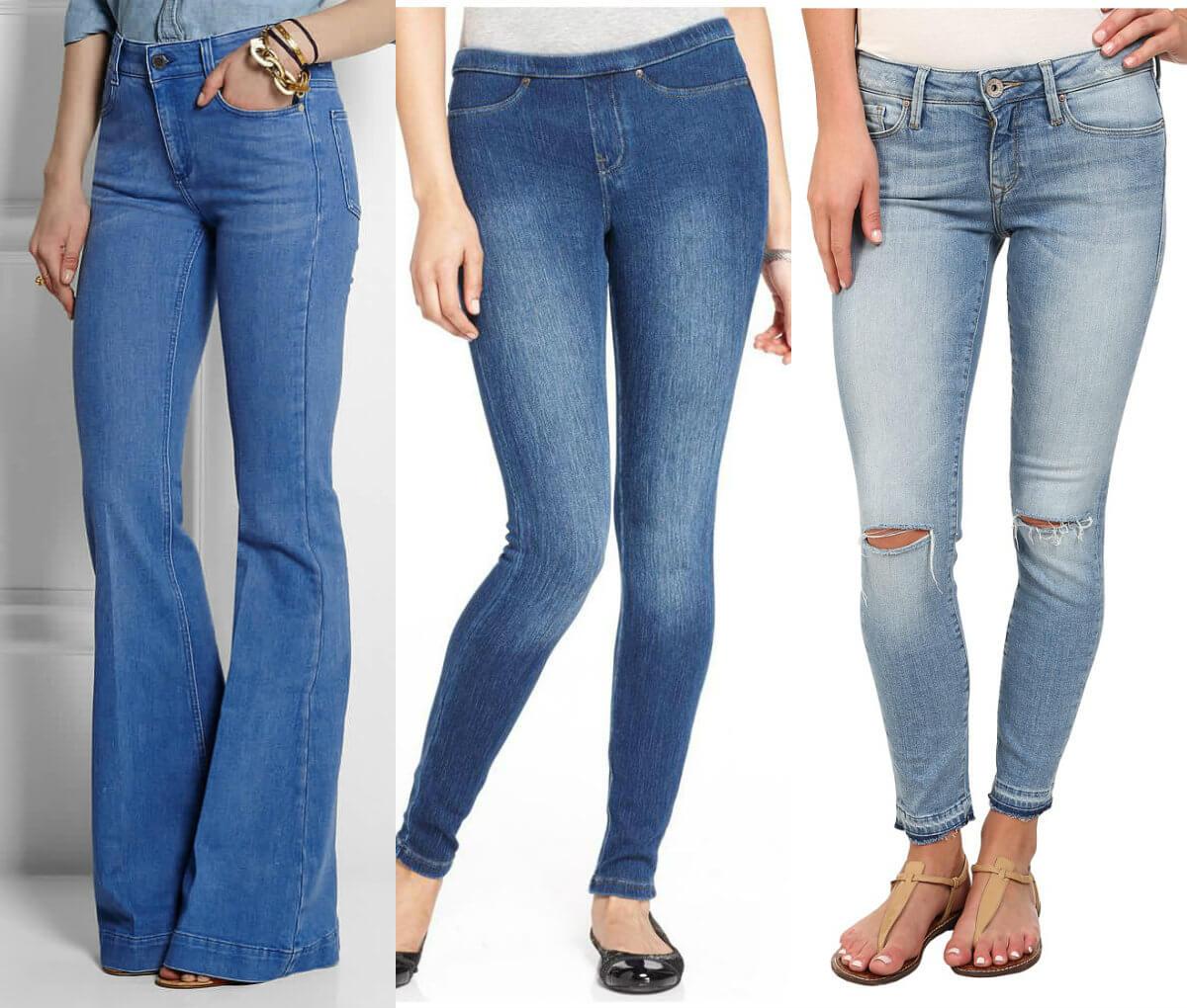 Женкие джинсы Original rise