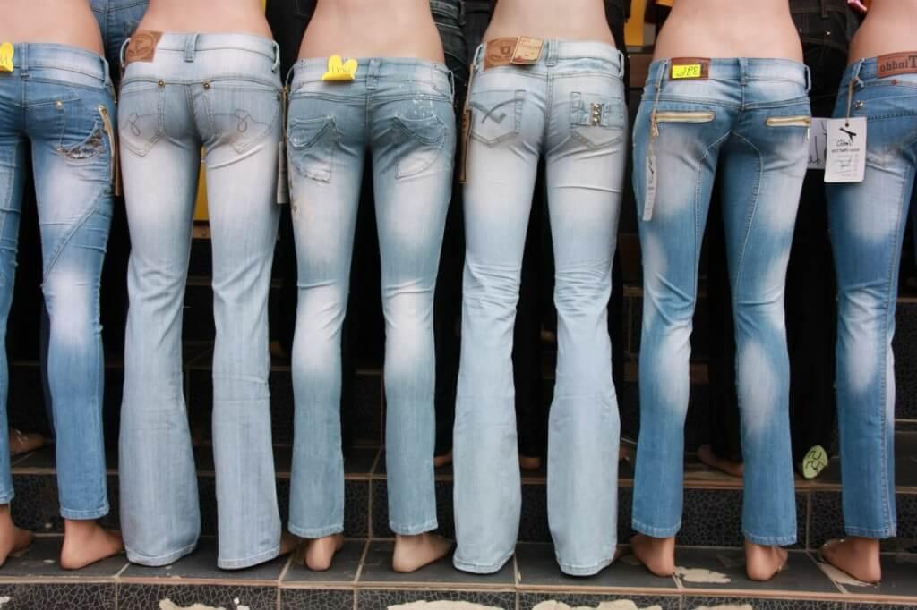 типы джинсов rise
