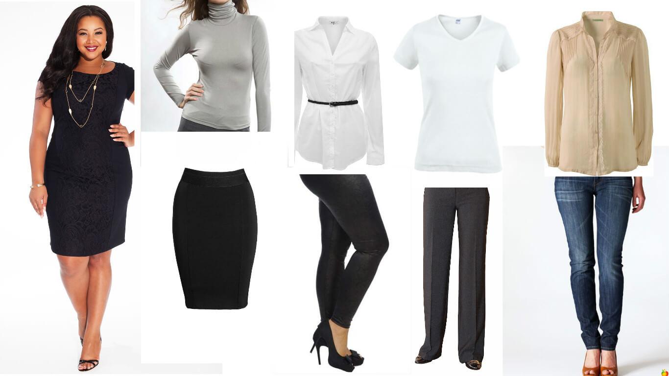 Набор база гардерба для женщины