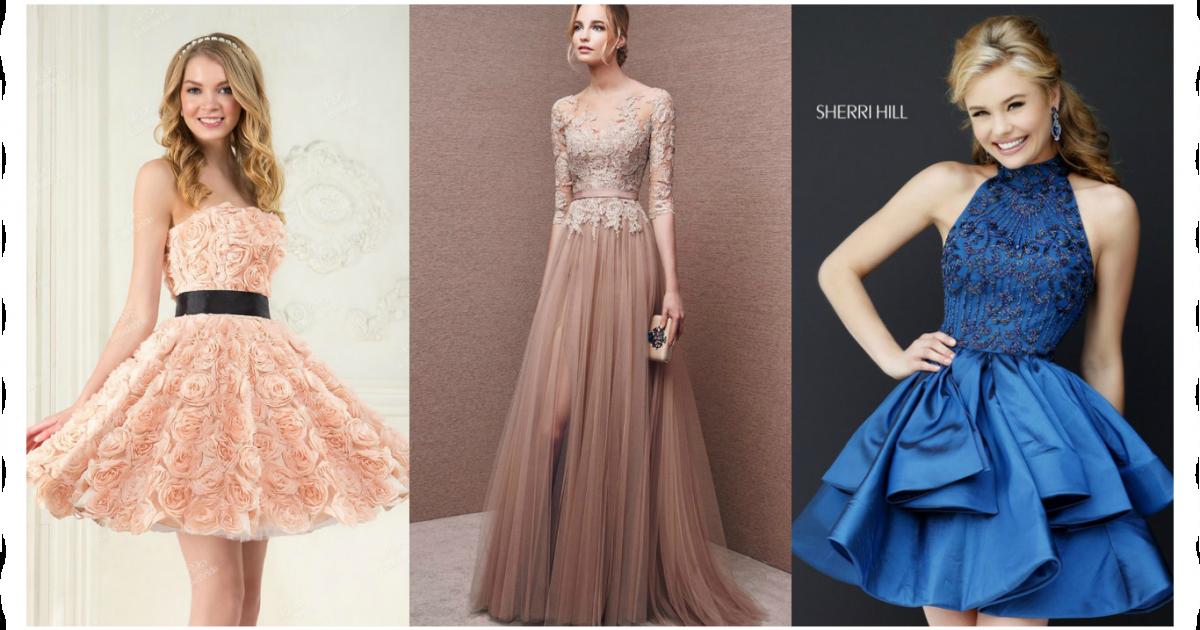 Какое платье выбрать для выпускного