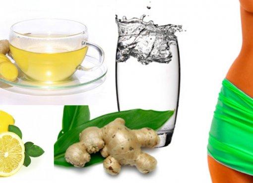 Худеть, имбирный чай, польза имбиря