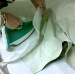 Как разгладить экокожу, как погладить куртку из экокожи