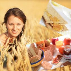 хлебцы для похудения, польза и вред хлебцов цельнозерновых