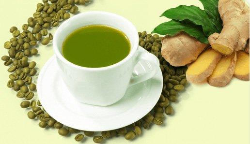зеленый кофе с имбирем, как приготовить, рецепт