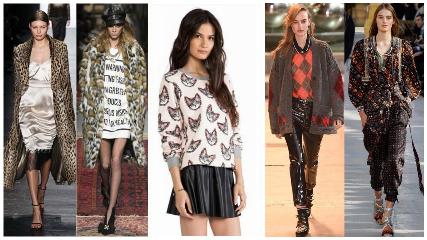Женская мода сезона весна-лето осень 61