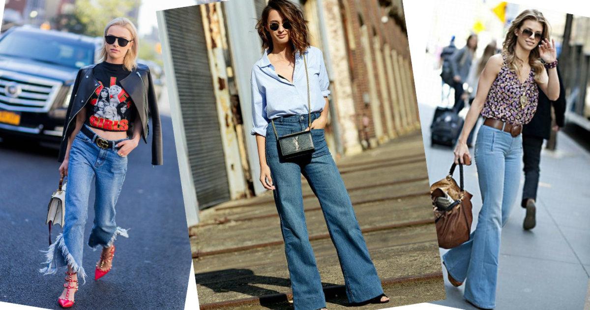 Какой цвет джинс в моде будет в 2017