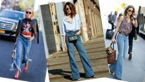 Какие джинсы модные в 2018
