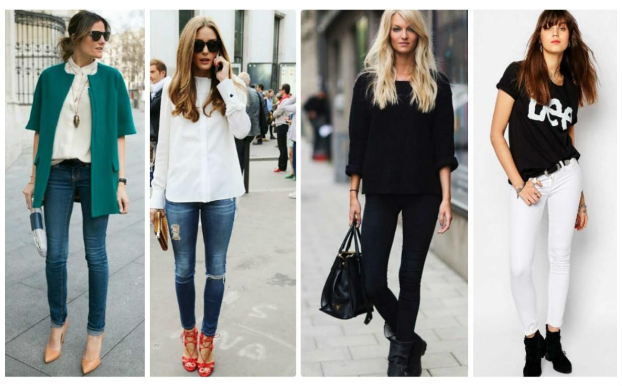 фото модных женских джинс для молодежи, тренд 2017-2018 года