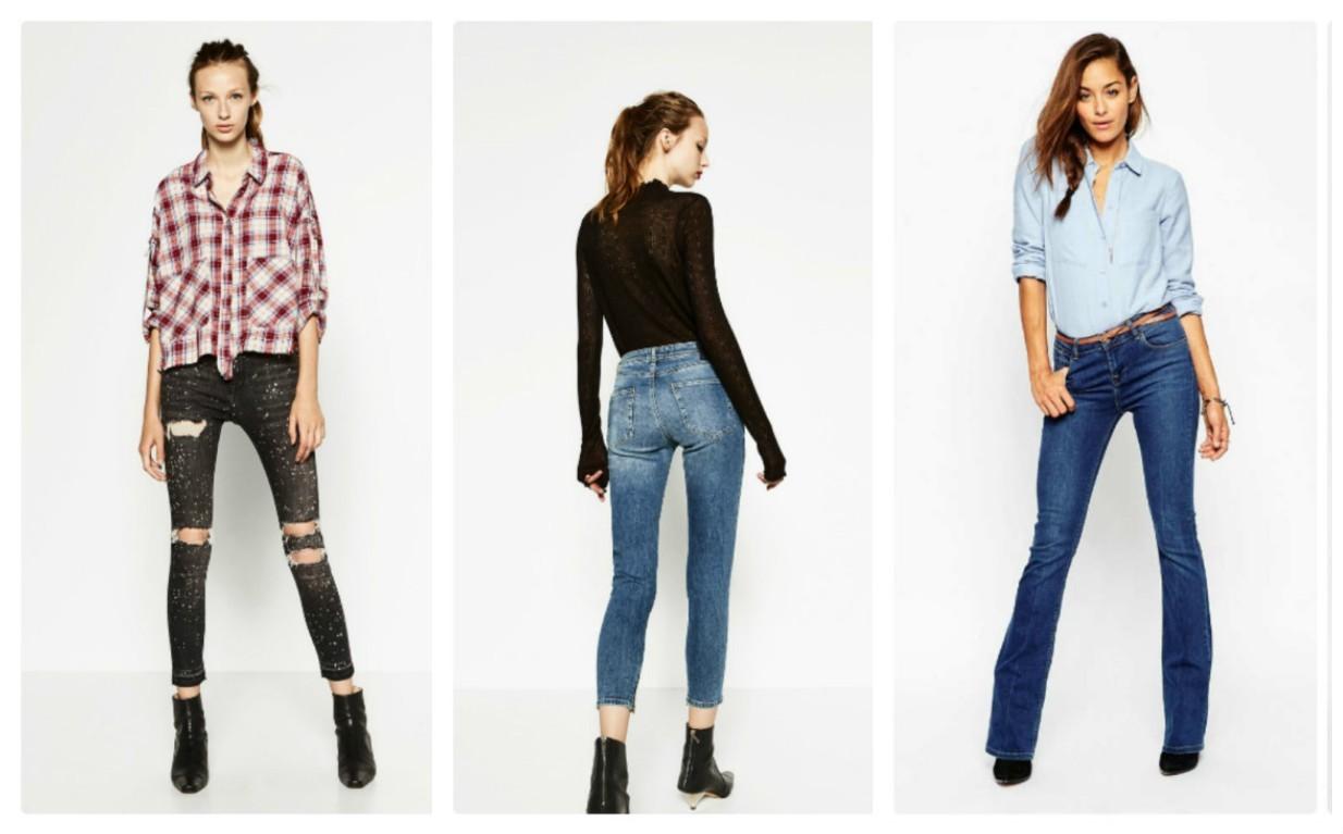 женские джинсы в молодежном стиле, мода 2017-2018