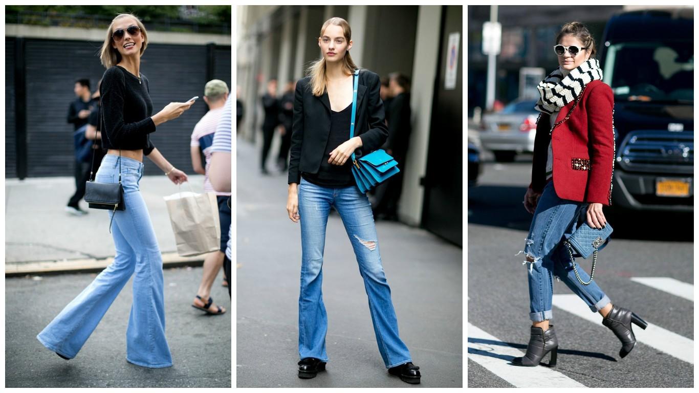 модные джинсы 2017-2018, женская джинсовая мода весна лето, фото, тенденции моды