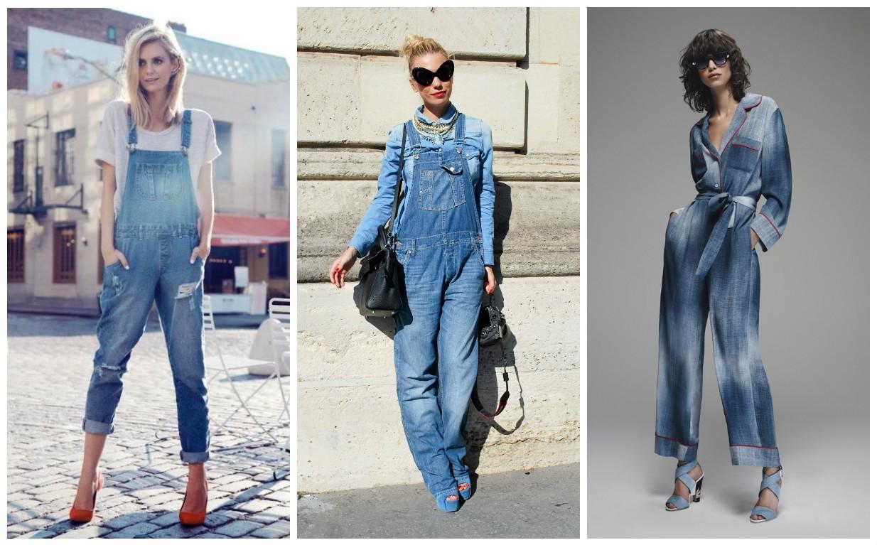 мода 2017-2018, женские комбинезоны, модные тенденции весна, осень, зима, лето.