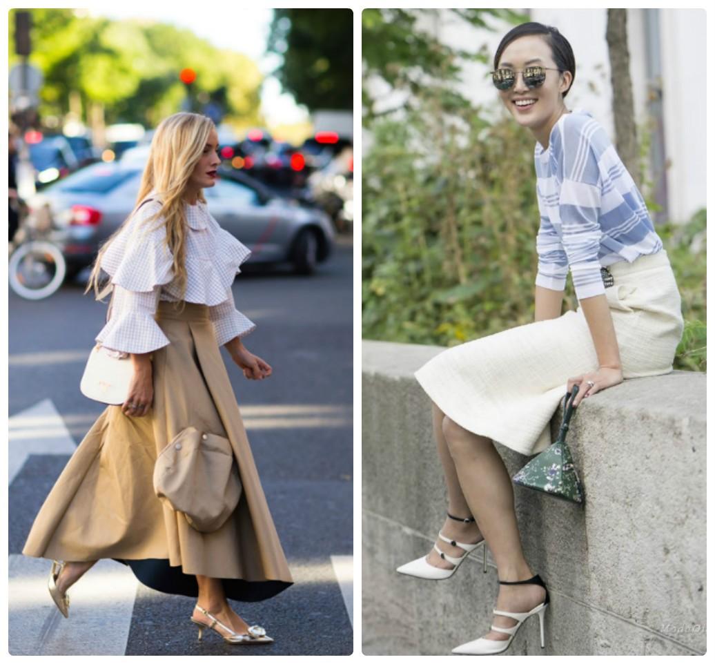 женские юбки, весна лето, осень 2017 2018, Street Style