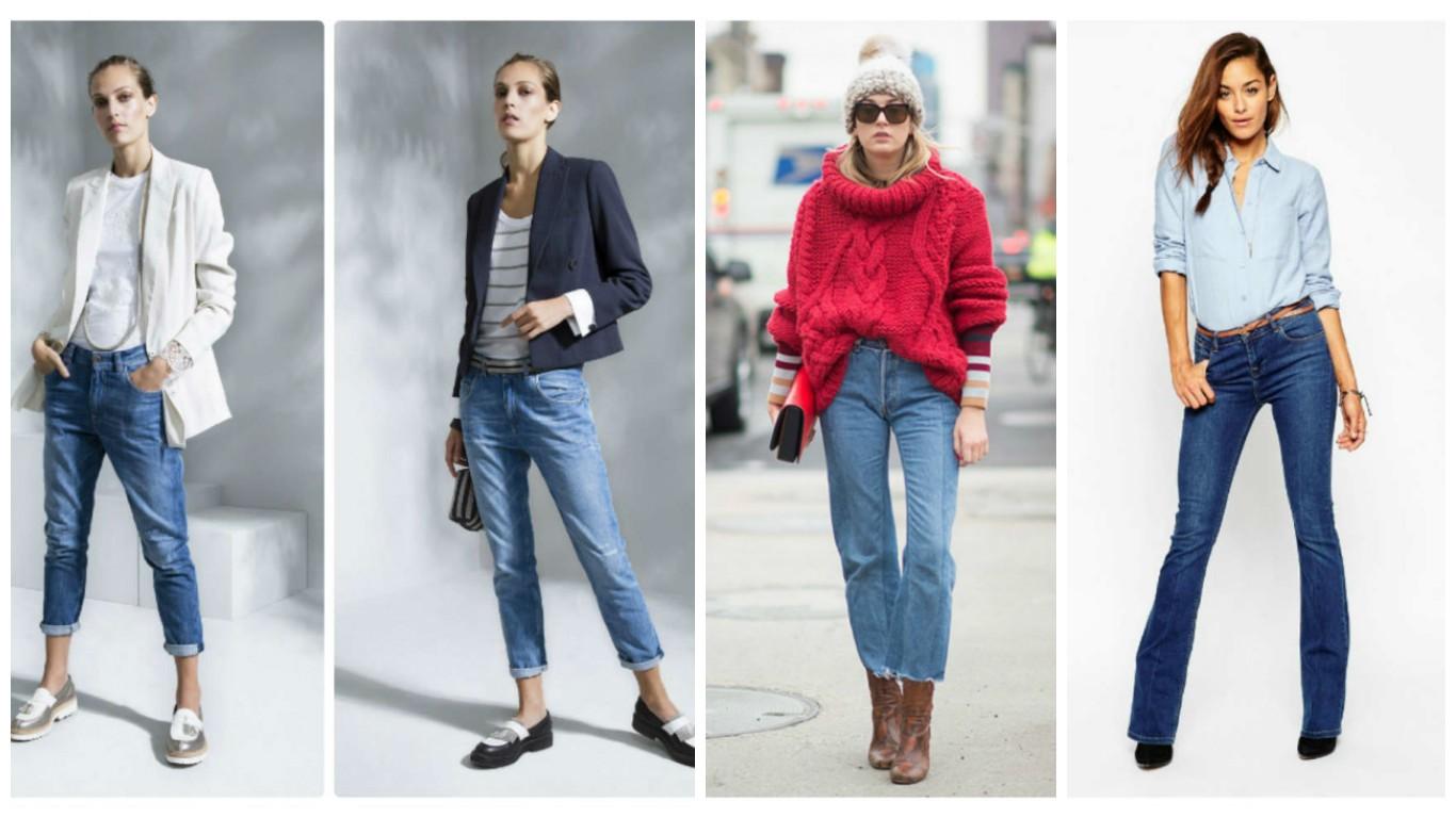 Что носить с джинсами женщинам 2018