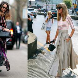 Уличная мода 2017: что носят в Европе  2017