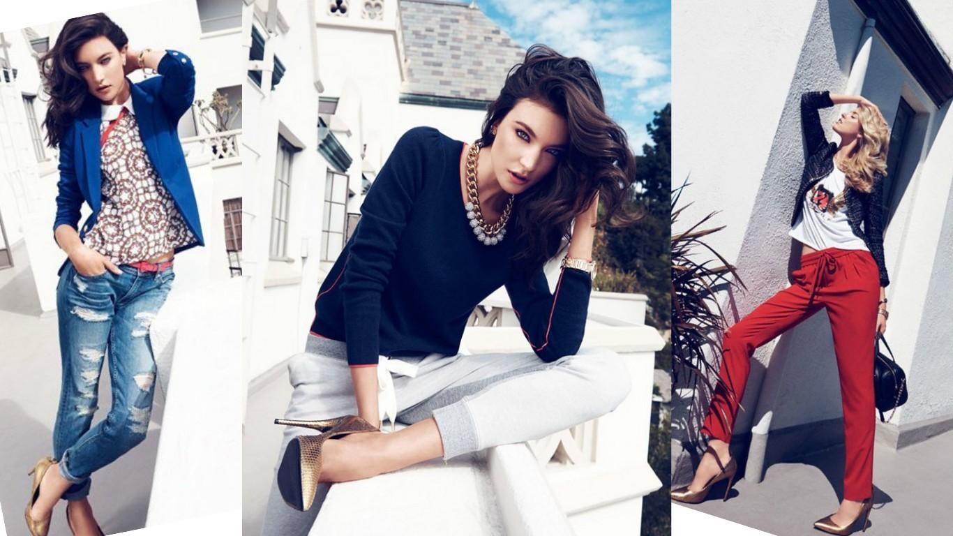 лукбук для девушек, лукбук на лето, фото модных летних нарядов