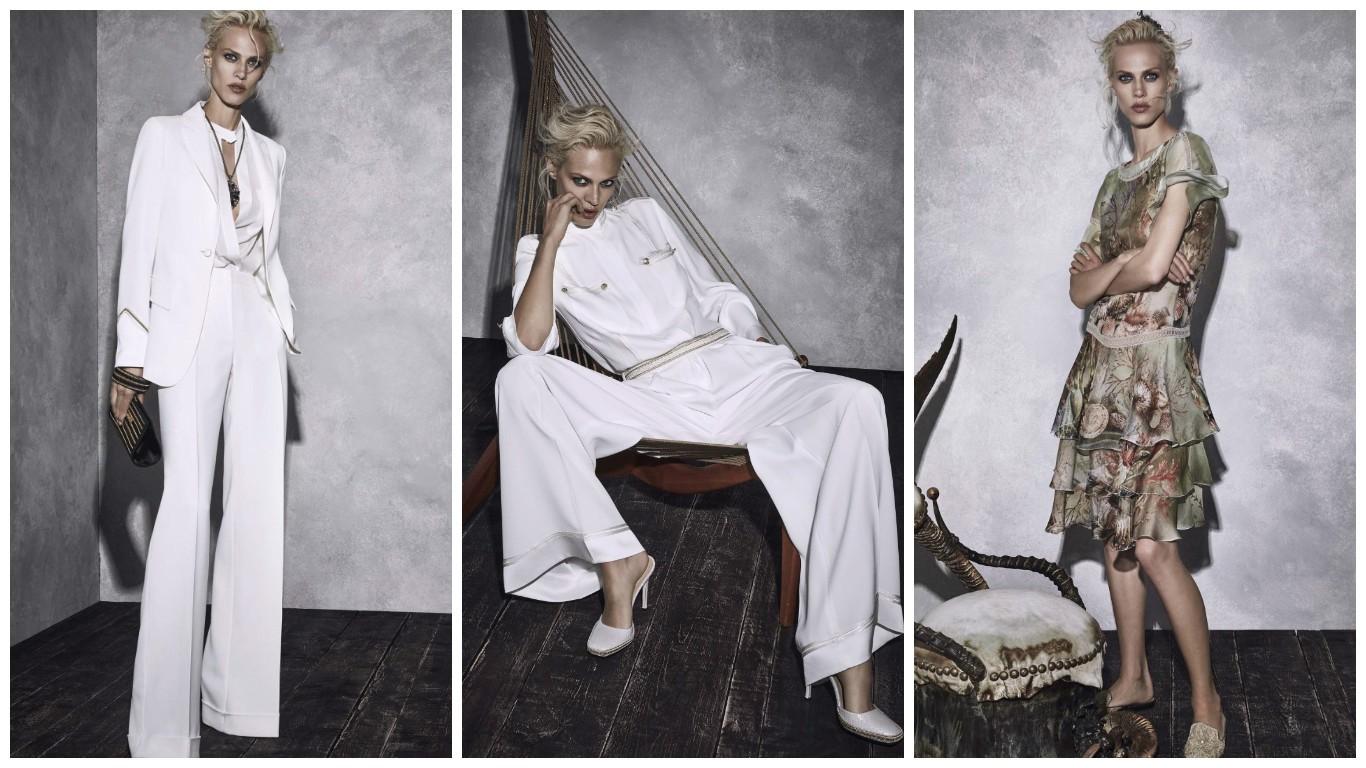 дукбук модели, женские луки фото, наряды модной коллекции от Альберто Ферретти на 2017-2018 года