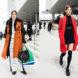 уличная мода осень зима 2017 2018, женская мода улиц, модные брюки, платья, пальто, аксессуары