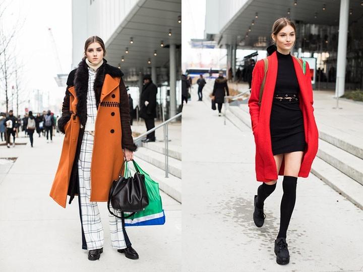 Смотреть Уличная мода осень-зима 2019-2016 видео