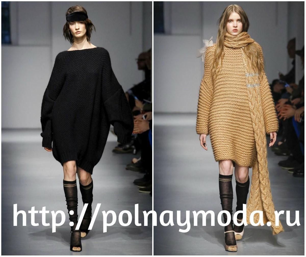 модные платья. для молодых, вязаные платья, осень зима 2017 2018