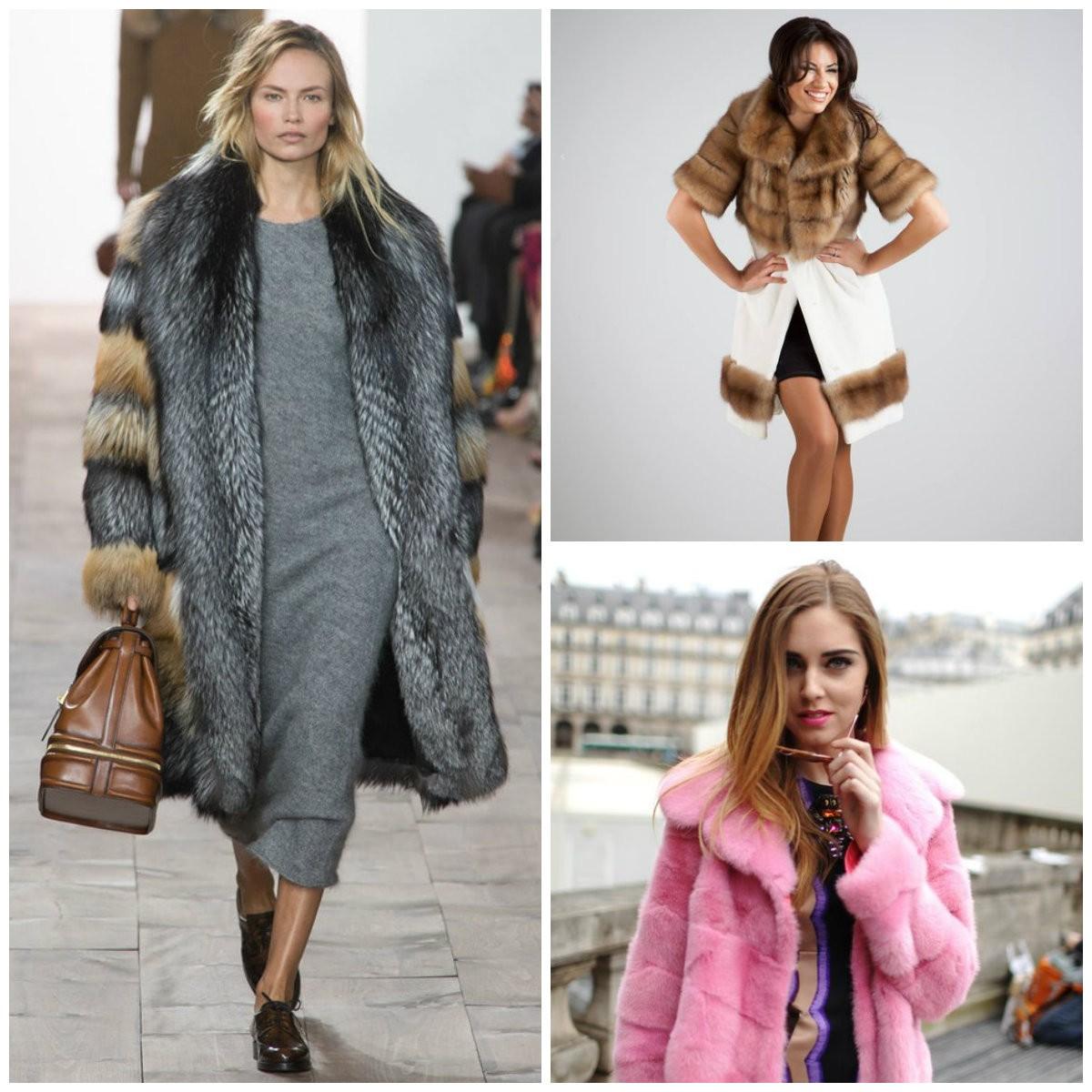 модные тренды осень зима 2017 2018, шубы для женщин