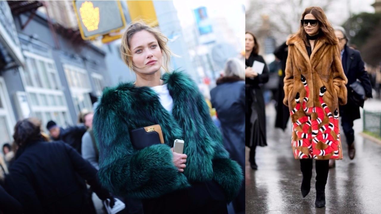 мода зима 2018, модные шубы для женщин, тренды, тенденции