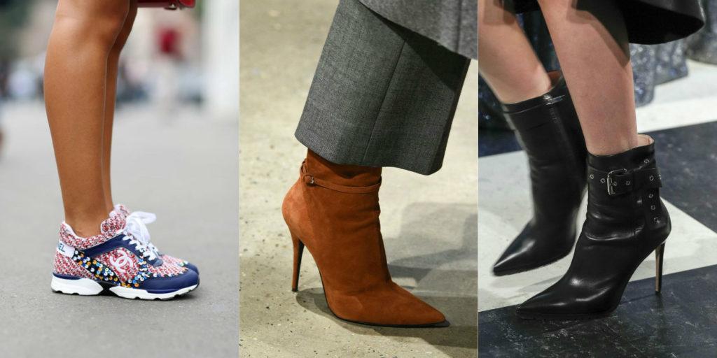 Модная женская обувь 2018 на каблуке