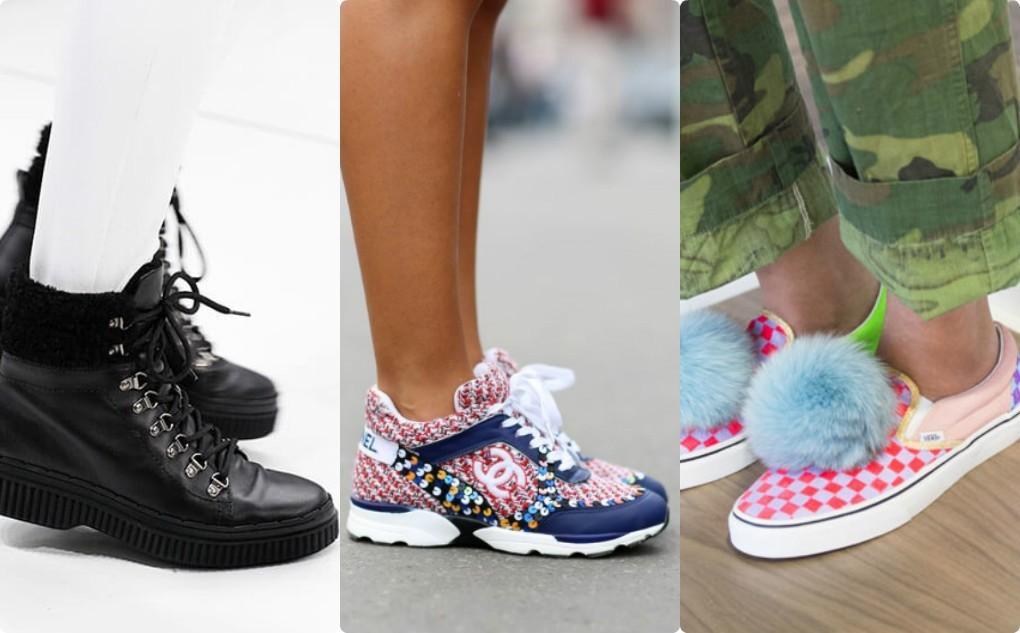 женская спортивная обувь, мода осень весна 2018 2019, кроссовки, скини, полуботинки