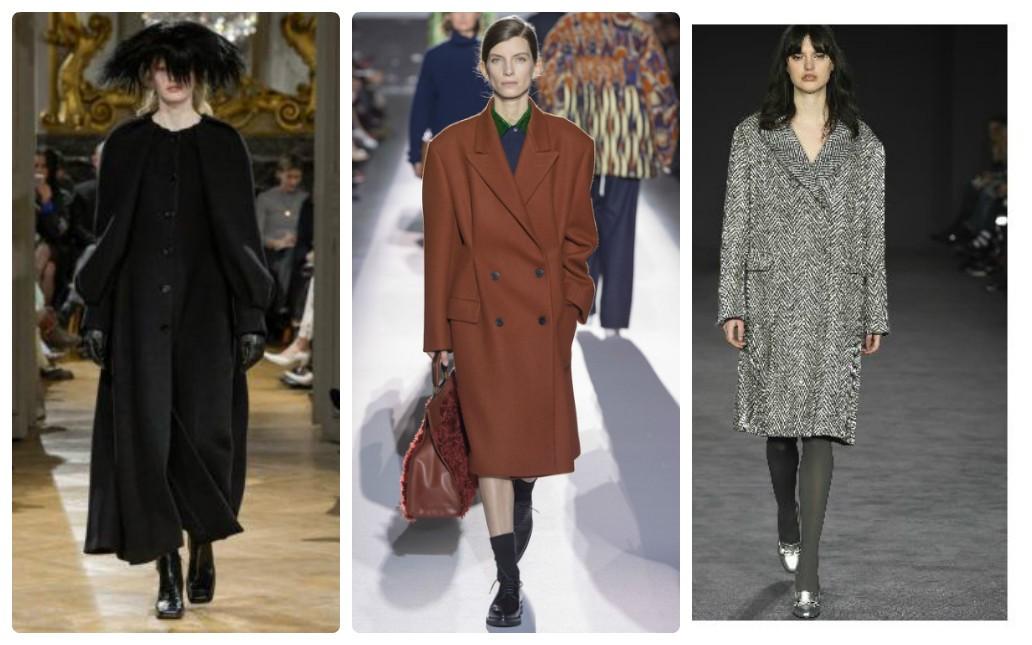 осеннее модное пальто 2017 2018, осень зима, пальто оверсайз, свободное пальто, прямое