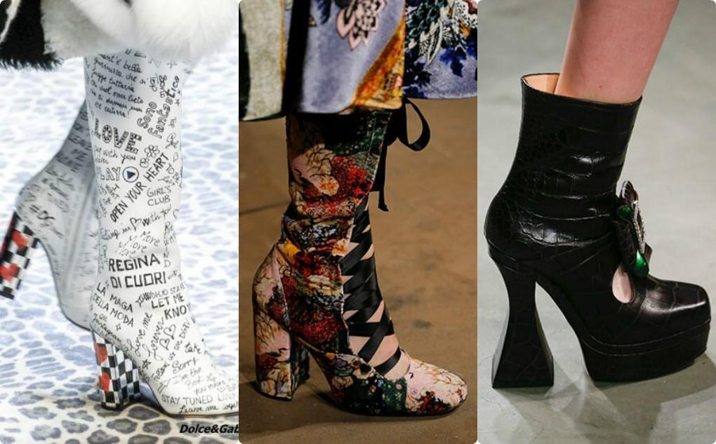 обувь женская модная, необычного дизайна, оригинального каблука,