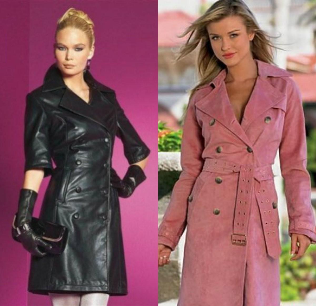 кожаное пальто, замшевое, из замши из кожи, модный пальтовый материал