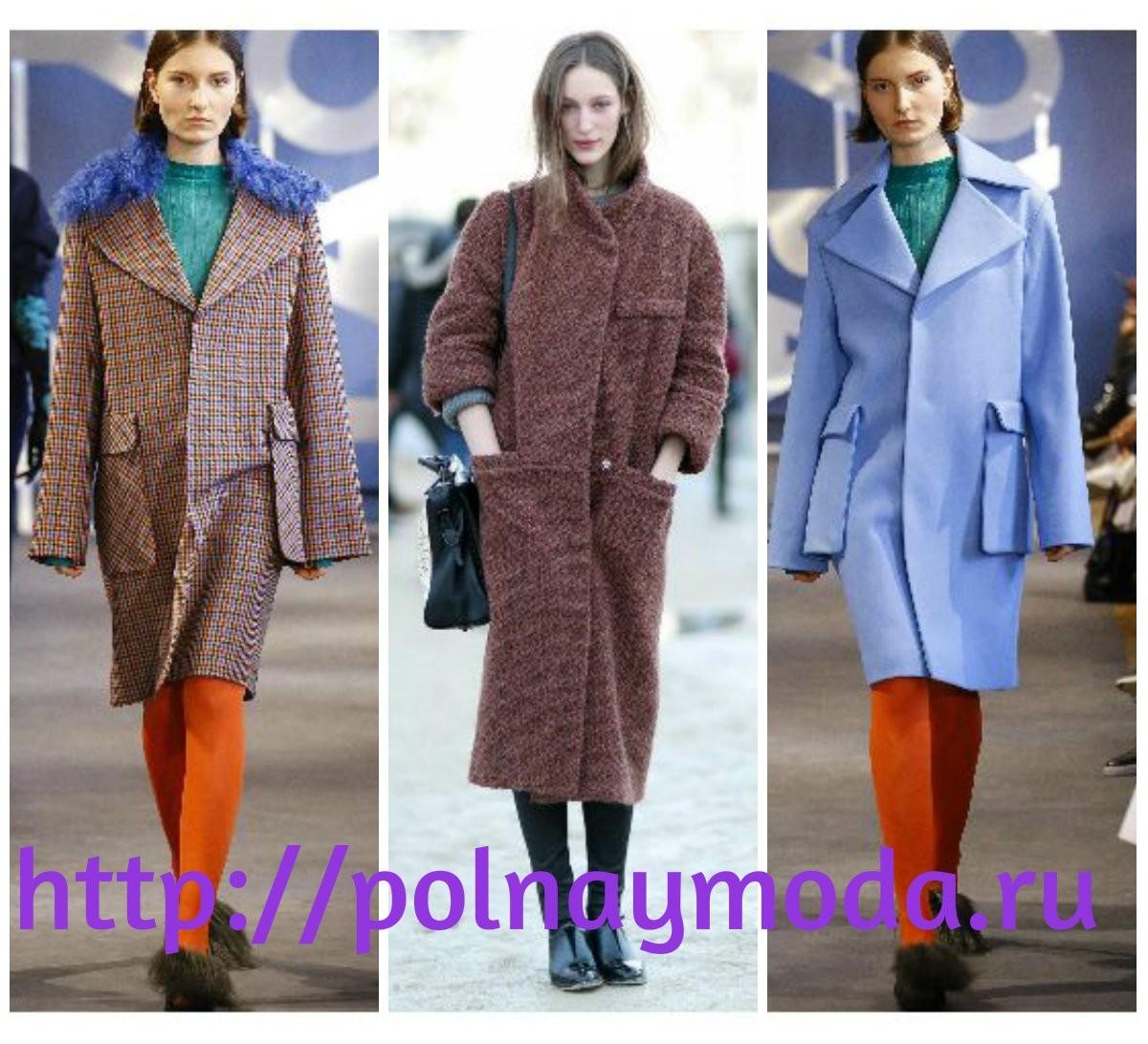 пальто с карманами мода 2017 2018 осень зима
