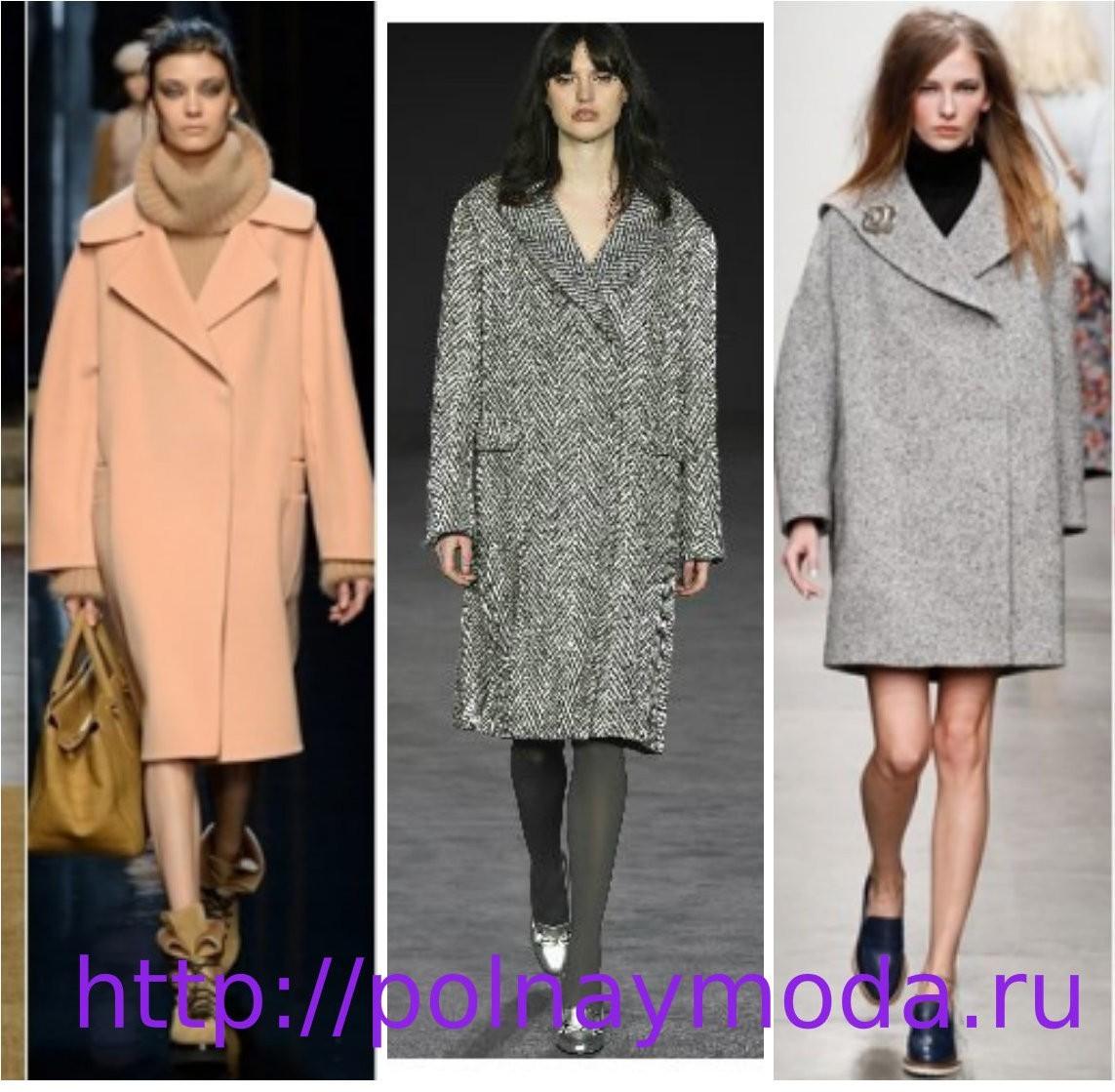 Какое пальто в моде в 2018 году фото