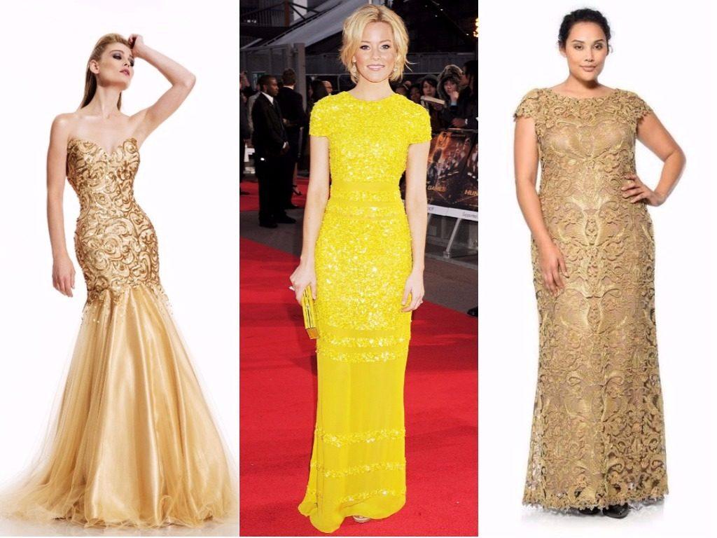 Платья желтые, золотые Новый год Собаки 2018 для женщин 45 50 20-30 лет