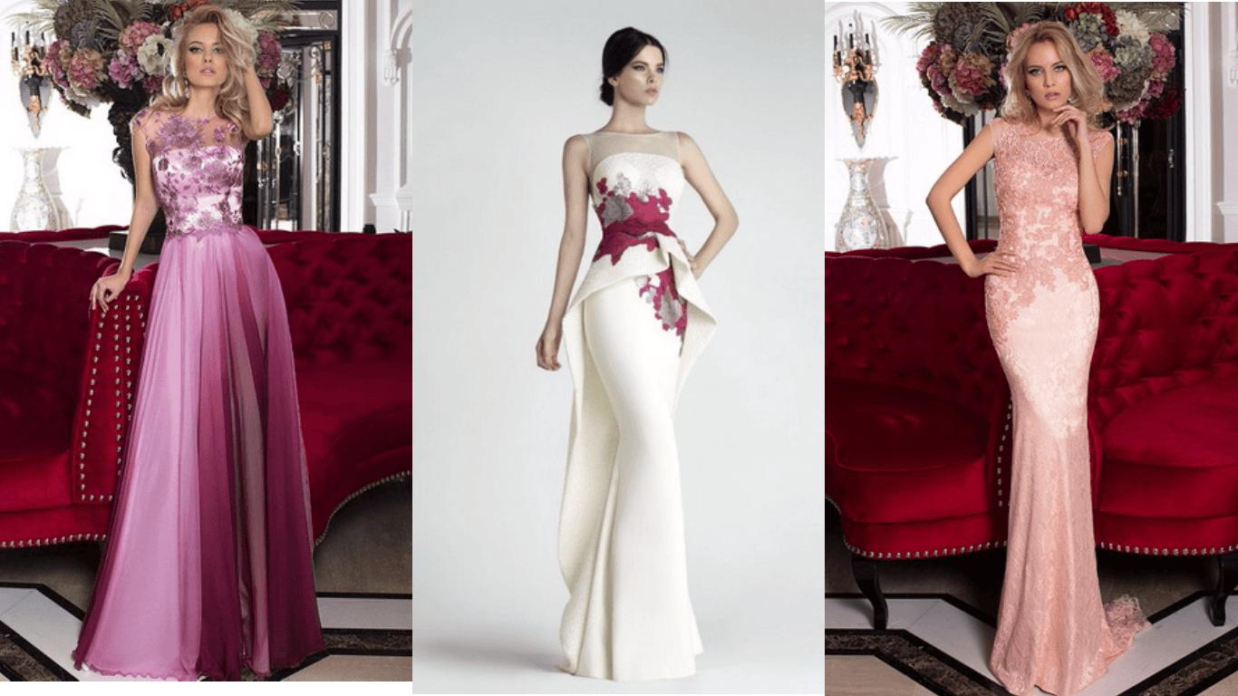 в чем встречать новый 2018 год, платье светло-сиреневого, приглушенного розового, белого цвета для встречи нового года