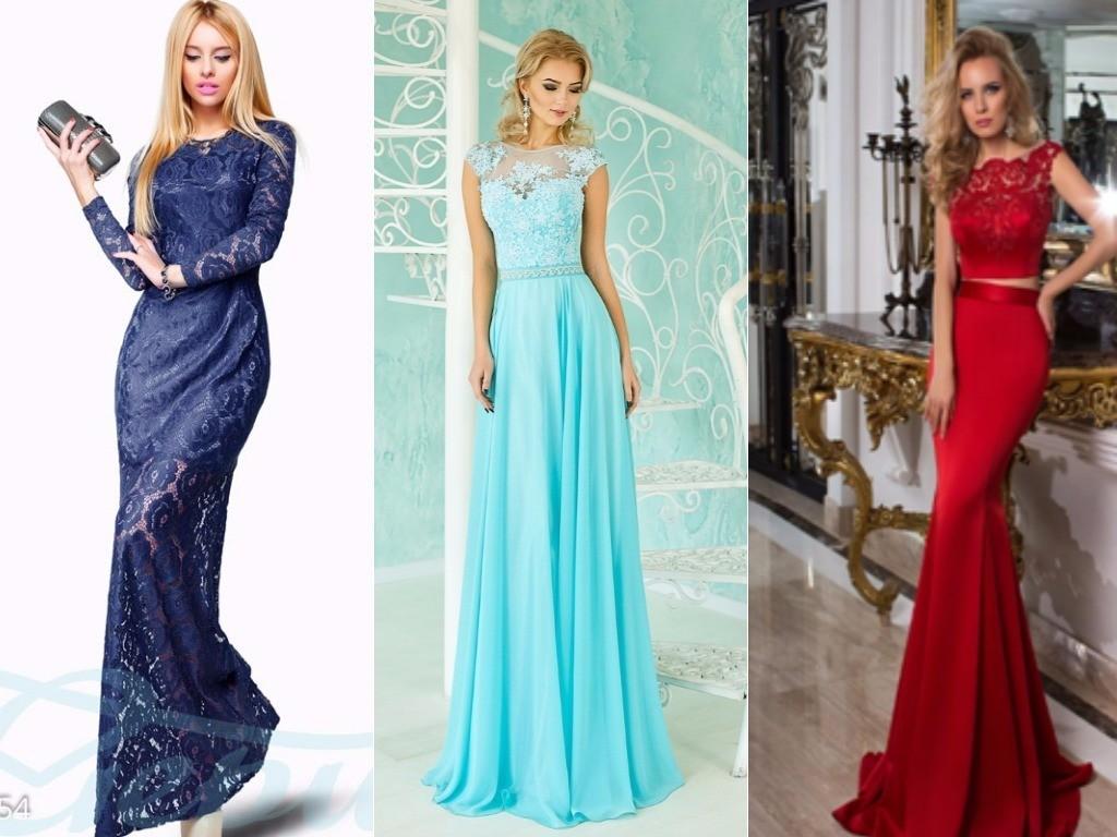 для Близнецов синее, фиолетовое, красное, голубое платье А-силуэта для нового года