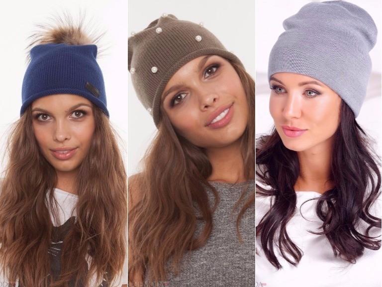 Модные женские шапки зима 2018