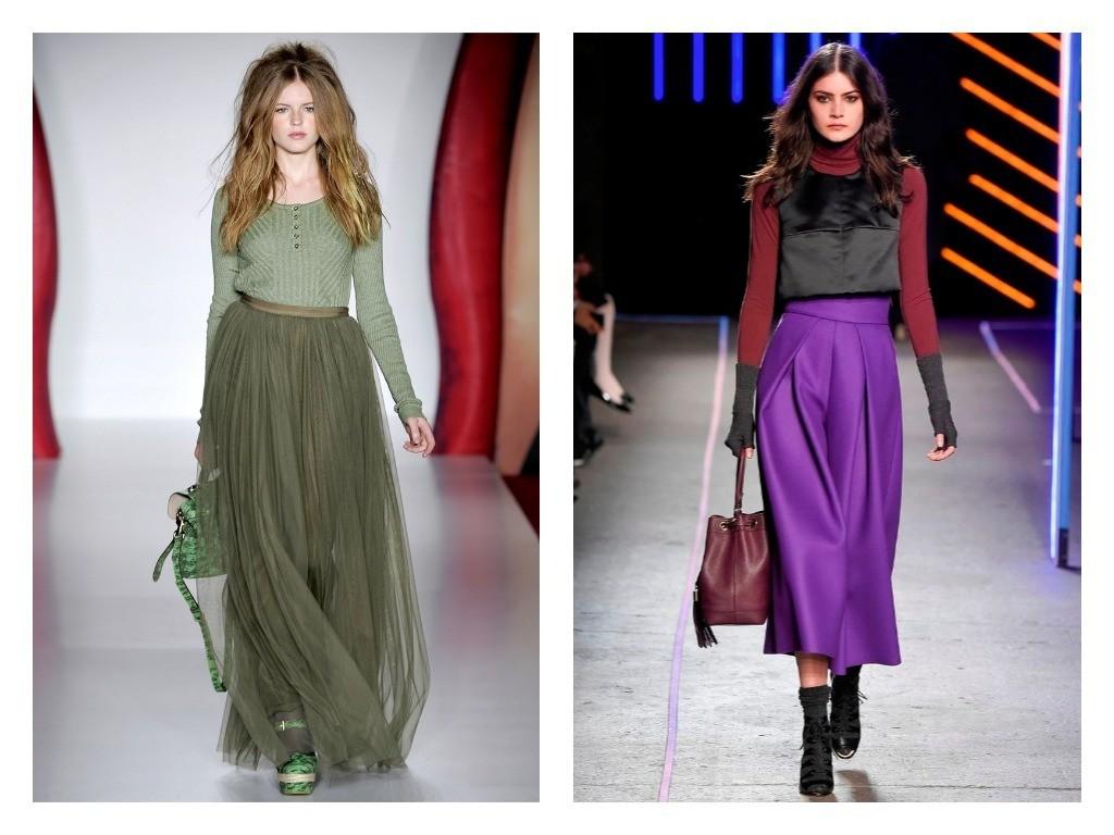 модные юбка-брюки 2018