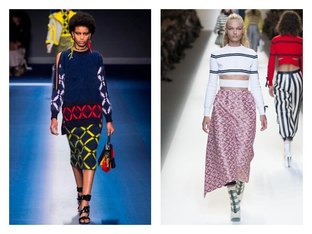 трикотажные платья весна-лето 2018