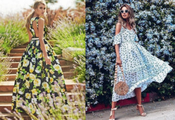 мода лето 2018 2019 модная одежда платья тренды тенденции