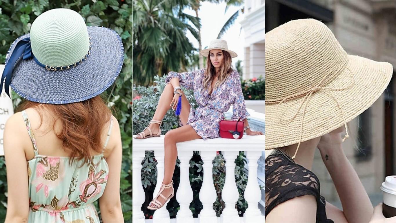 соломенная шляпка лето 2018 2019 мода женская