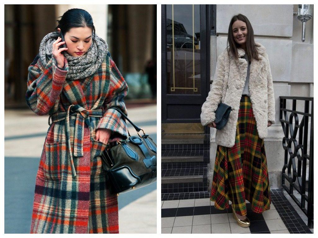 клетка тренды уличной моды 2019