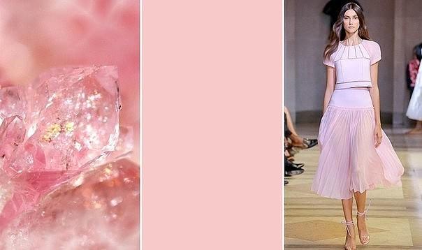 Розовый кварц - самый модный оттенок весны 2016 года