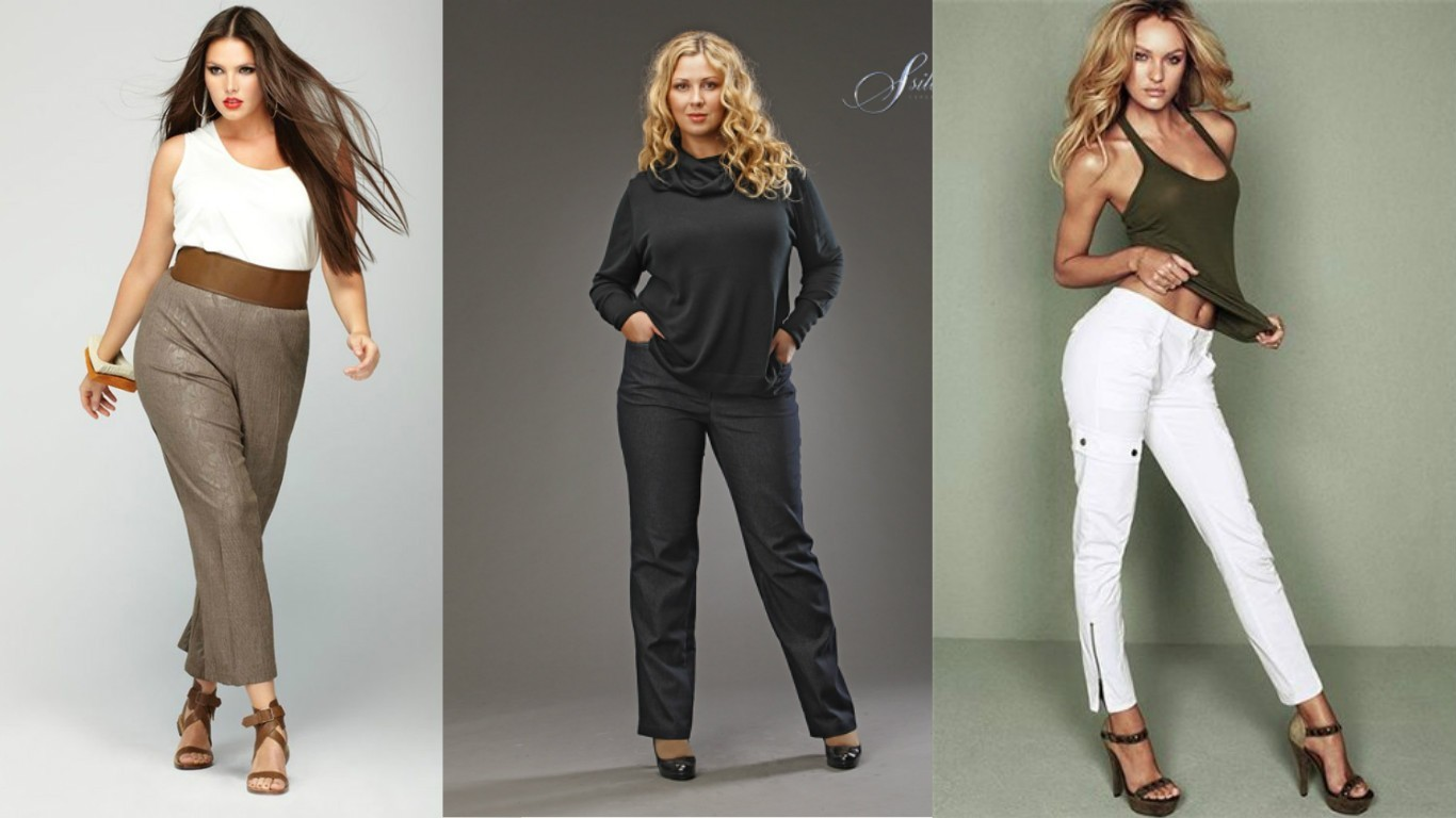 Как определить размер брюк, определяем размер женских брюк, таблицы соответствия