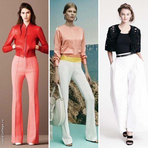 Модные брюки для женщин на весну 2016 года