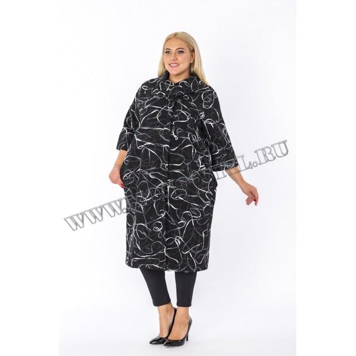 """Пальто """"Kapris"""" ( Турция ) из плотного трикотажа"""