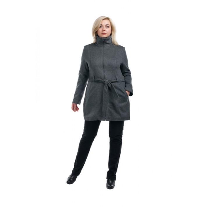 Пальто от OLSI-TRADE (Россия) из шерстяного текстильного полотна, полуприлегающего силуэта.