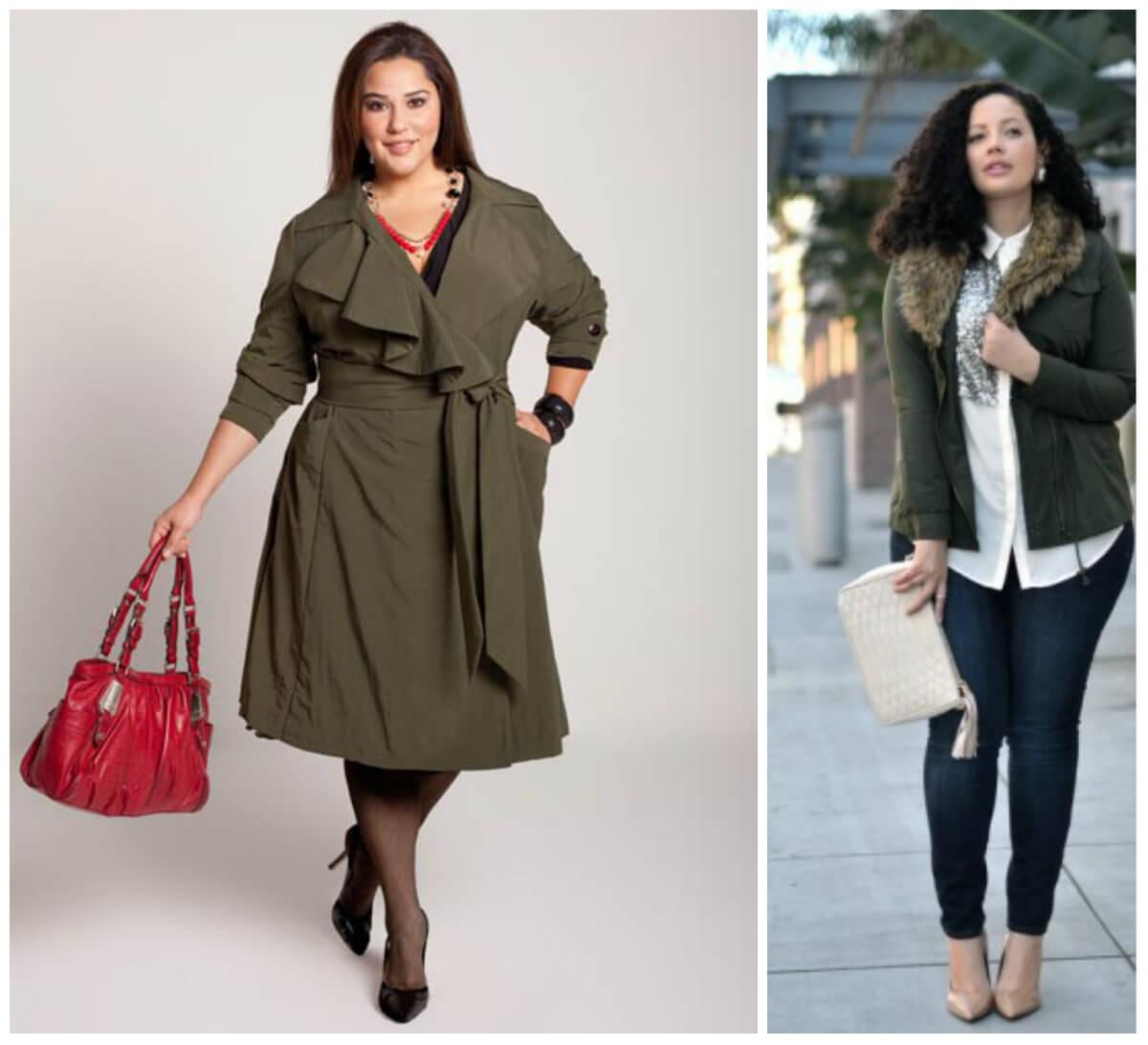 Уличная мода Pluse size 2016